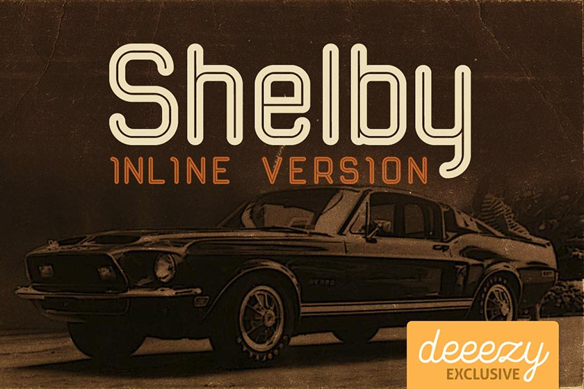 shelby font