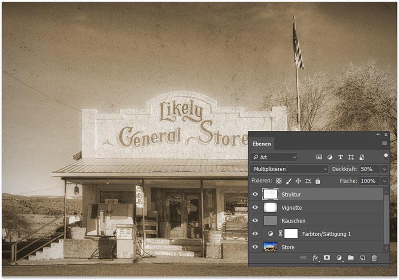 So erstellt Du einen Vintage Foto Effekt mit Photoshop 1