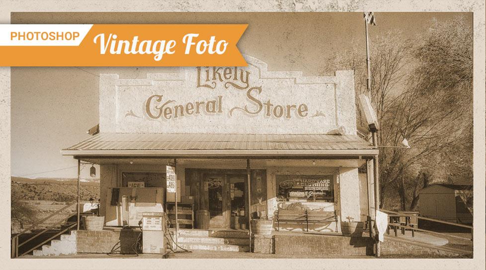 vintage foto effekt preview