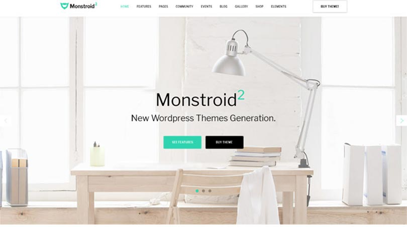 monstroid2 Premium Theme